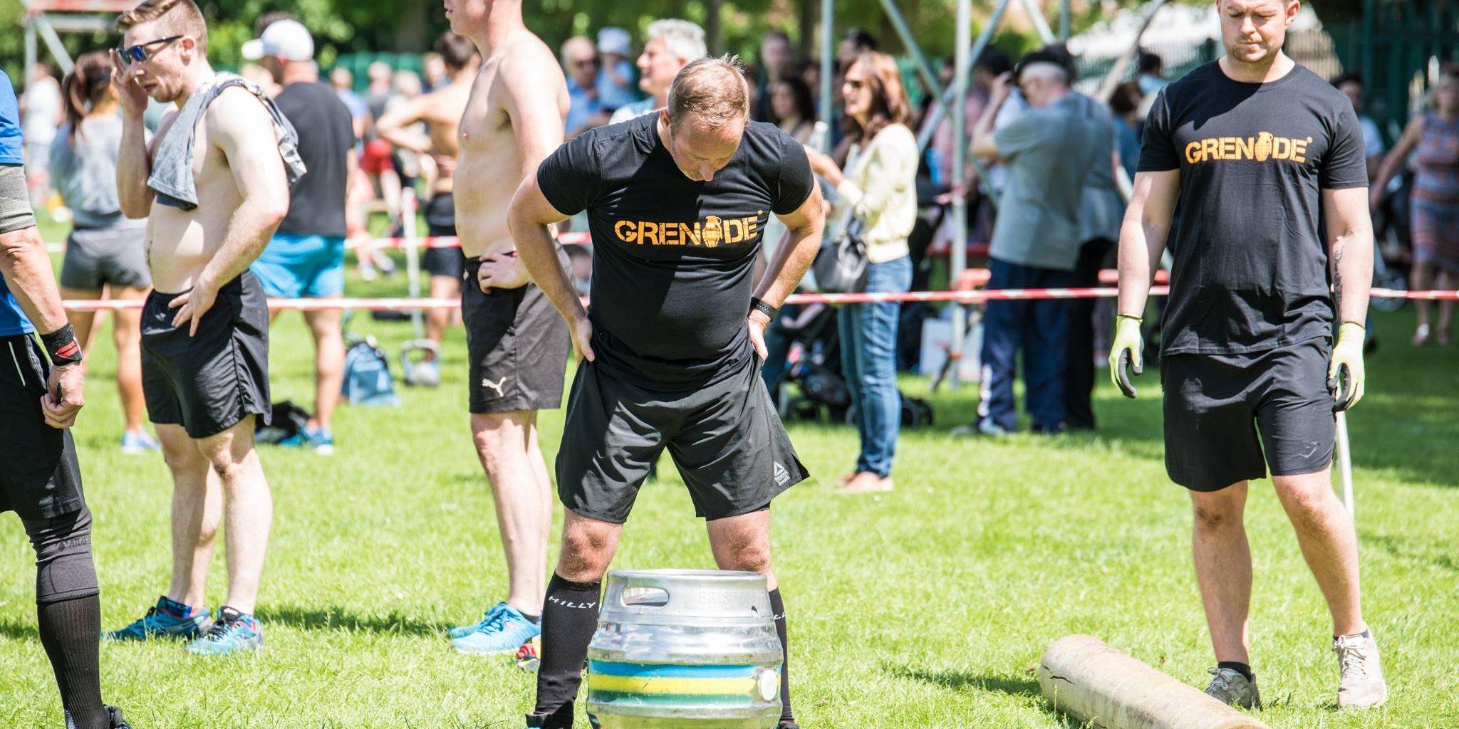 60kg Log Lunge & 50kg Barrel carry